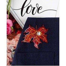 Набір для вишивки хрестиком на одязі Абріс Арт АНО-011 Крапелька сонця-1