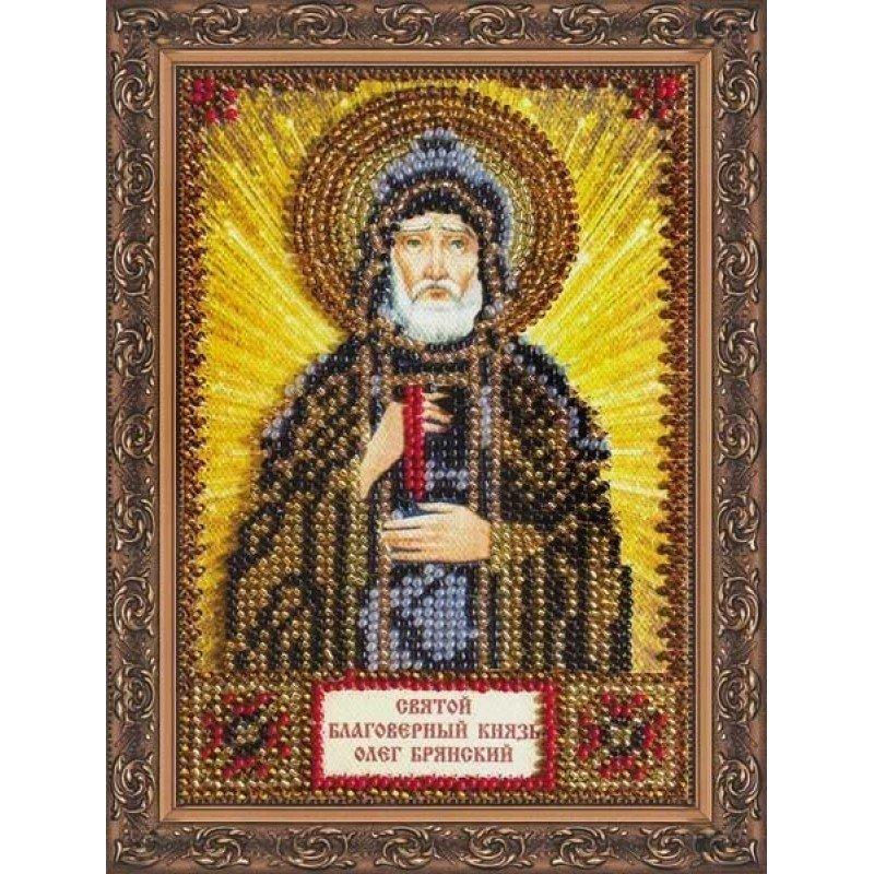 Набір для вишивання бісером іменної міні-ікони Святий Олег Абріс Арт ААМ-018