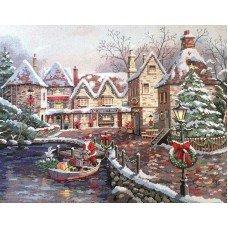 Набір для вишивання хрестиком Classic Design 4361 Різдвяна бухта