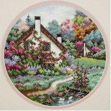 Набір для вишивання хрестиком Classic Design 4373 Будиночок в саду