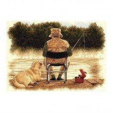 Набір для вишивання хрестиком Classic Design 4440 Риболовля