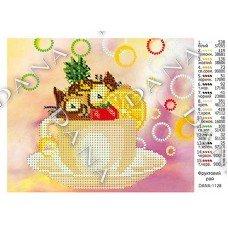 Схема для вишивання бісером ДАНА-1128 Фруктовий рай