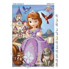 Схема для вишивання бісером ДАНА-1137 Софія прекрасна