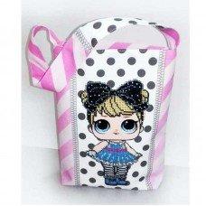 Еко сумка дитяча для вишивки бісером ДАНА С-05 ЛОЛ Curious QT