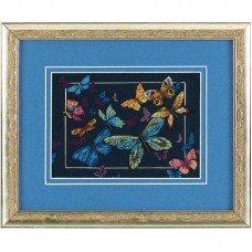Набор для вышивки крестом Dimensions 06846 Экзотические бабочки