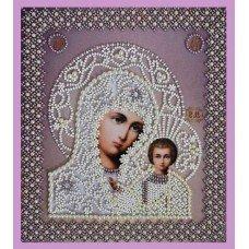 Набір вишивки бісером Картини Бісером Р-208 Казанська Ікона Божої Матері. Вінчальна пара