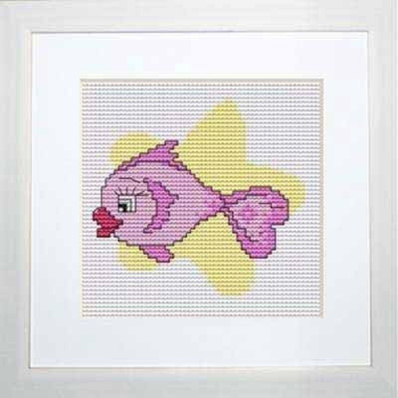 Набір для вишивання хрестиком Luca-S B061 Риби