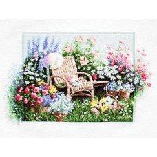 Набір для вишивання хрестиком Luca-S B2344 Квітучий сад