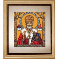 Набір для вишивання хрестиком Luca-S B421 Святий Миколай