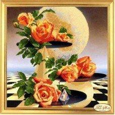 Набір для вишивання бісером Тела Артис НГ-002 Місячні троянди
